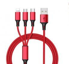 Univerzální nabíjecí kabel 3v1