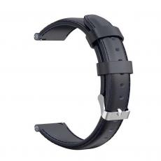 Xiaomi univerzální kožený strap 20 mm (černá)