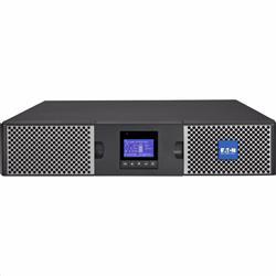 EATON UPS 9PX 3000i RT2U Li-Ion, On-line, Rack 2U/Tower, 3000VA/2400W, výstup 8/2x IEC C13/C19, USB, displej, sinus