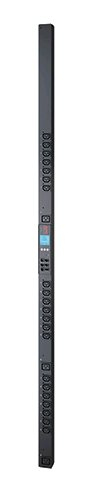 Rack PDU 2G, Metered by Outlet with Switching, ZeroU, 16A, 100-240V, (21) C13 & (3) C19