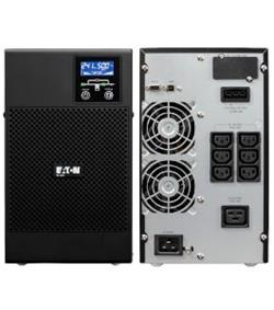 EATON UPS 9E 3000VA, On-line, Tower, 3000VA/2400W, výstup 6/1x IEC C13/19, USB, displej, sinus