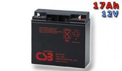 CSB Náhradni baterie 12V - 17Ah GP12170 - kompatibilní s RBC7/11/49/50/55