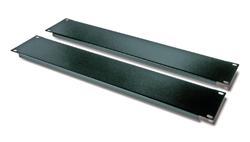 """Blanking Panel Kit 19"""" Black (1U, 2U, 4U, 8U)"""