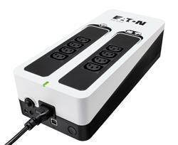 EATON UPS 3S 550 IEC, Off-line, Tower, 550VA/330W, výstup 6x IEC C13, USB, bez ventilátoru