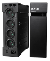 EATON UPS Ellipse ECO 800 FR USB, Off-line, Tower, 800VA/500W, výstup 4x FR, USB, bez ventilátoru