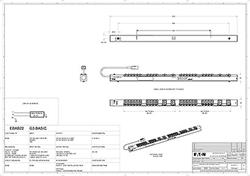 Eaton ePDU: Základní IEC - 0U - In: C20 16A 1P - Out: 20xC13:4xC19