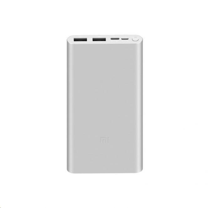 Xiaomi Mi Fast Charge 3 10000mAh stříbrná