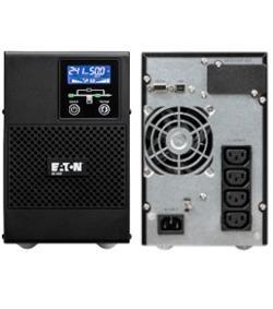 EATON UPS 9E 1000VA, On-line, Tower, 1000VA/800W, výstup 4x IEC C13, USB, displej, sinus