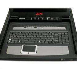 """17"""" Rack LCD Console with Integrated 16 Port Analog KVM Switch"""