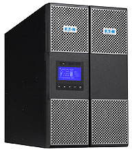 EATON UPS 9PX 11000i, HotSwap, On-line, Tower, 11kVA/10kW, svorkovnice, USB, displej, sinus, ližiny nejsou součástí