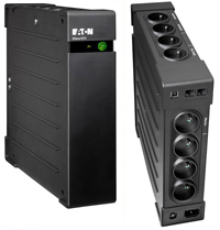 EATON UPS Ellipse ECO 1600 FR USB, Off-line, Tower, 1600VA/1000W, výstup 8x FR, USB, bez ventilátoru