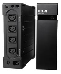 EATON UPS Ellipse ECO 800 IEC USB, Off-line, Tower, 800VA/500W, výstup 4x IEC C13, USB, bez ventilátoru