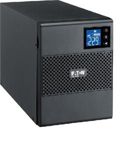 EATON UPS 5SC 500i, Line-interactive, Tower, 500VA/350W, výstup 4x IEC C13, USB, displej, sinus, bez ventilátoru