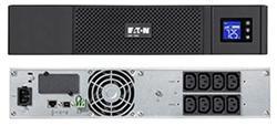 EATON UPS 5SC 1500IR, Line-interactive, Rack 2U, 1500VA/1050W, výstup 8x IEC C13, USB, displej, sinus