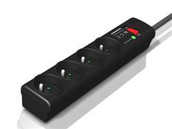 EATON Protection Strip 4 FR, přepěťová ochrana, 4 výstupy, zatížení 10A