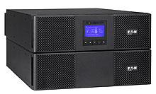EATON UPS 9SX 11000i, Power Module, On-line, Tower, 11kVA/10kW, svorkovnice, USB, displej, sinus, ližiny nejsou součástí